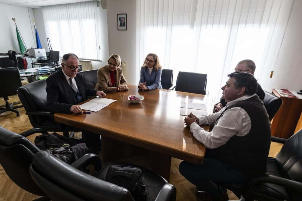 Firma del protocollo INPS-AGMEN FVG, Trieste 11 Febbraio 2020.